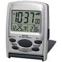 リズム時計工業 電波目覚まし時計 「ジャストウェーブR107DN」 8RZ107DN19 8RZ107DN19