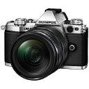 オリンパス ミラーレス一眼カメラOM−DE−M5MarkII シルバー(12−40mmF2.8レンズキット)