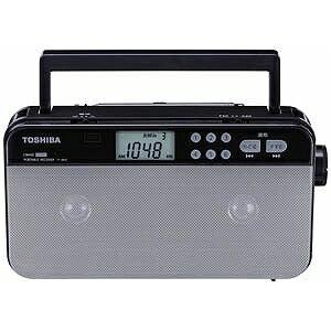 東芝 (ワイドFM対応)FM/AM ステレオラジオ(シルバー) TY‐SR55S