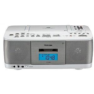 東芝 CDラジカセ(ラジオ+CD+カセットテープ) TY−CDK9(W)ホワイト