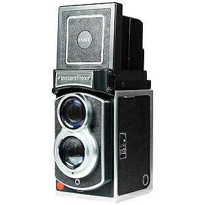 MiNT 二眼レフインスタントカメラ InstaxFlex TL70 INSTANTFLEXTL70(BK(送料無料)