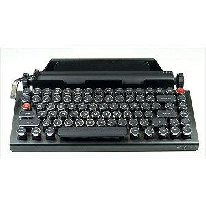 ワイヤレスキーボード タイプライター型(英語配列 83キー・ブルー) Qwerky writer1(送料無料)