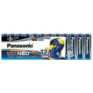 パナソニック 「単3形」12本 アルカリ乾電池 「エボルタネオ」   LR6NJ/12SW