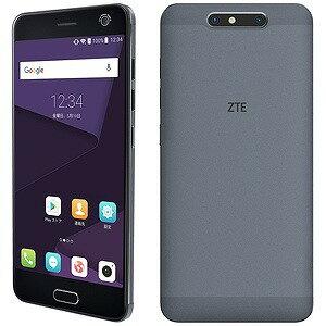 ZTE Android 7.0・5.2型・SIMフリースマートフォン Blade V8 ミッドナイトグレー 「BLADEV...