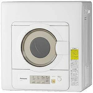 パナソニック 電気衣類乾燥機 (乾燥6.0kg) NH−D603−W ホワイト(標準設置無料)