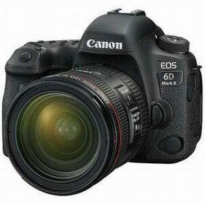 Canon デジタル一眼 EOS 6D Mark II(WG)【EF24−70L IS USM レンズキット】 デジタル一眼レフカメラ EOS6DMK22470ISLK(送料無料)