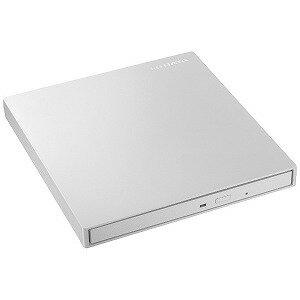 I・O・DATA ポータブルDVDドライブ[USB 3.0・Mac/Win]ホワイト DVRP−UT8LWA