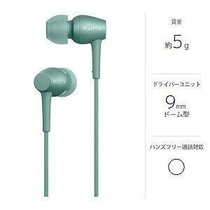 ソニー 「ハイレゾ音源対応」カナル型イヤホン IER-H500A GM()