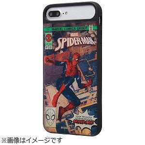 INGREM iPhone 8 Plus MARVEL耐衝撃ケースキャトル パネル スパイダーマン2  IQMVP76PCC3PCBMVL002