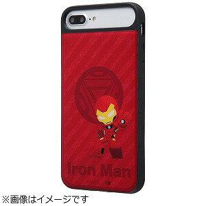 INGREM iPhone 8 Plus MARVEL耐衝撃ケースキャトル パネル アイアンマン1  IQMVP76PCC3PCBMVL005