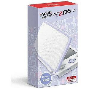 任天堂 Newニンテンドー2DS LL  [ゲーム機本体] ホワイトXラベンダー(送料無料)