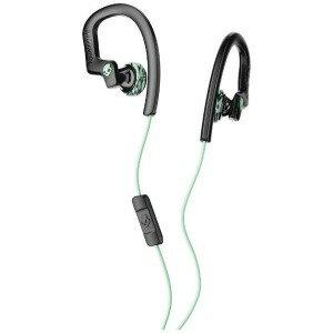 SKULLCANDY 耳かけ型イヤホン 防滴 /φ3.5mm ミニプラグCHOPSFLEX  S4CHY−K602 ブラックミント