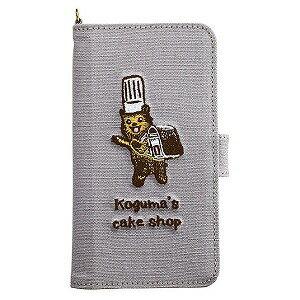 サンクレスト マルチスマホケース こぐまのケーキ屋さんこぐま グレー SMC−KC01