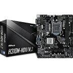 マザーボード Intel H310チップセット搭載 H310M−HDV/M.2 H310M−HDV/M.2 [MicroATX]