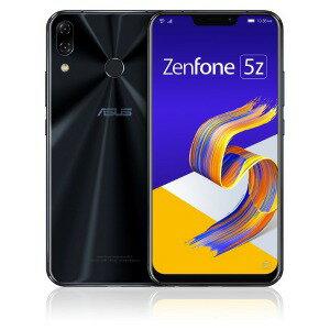 ASUS SIMフリースマートフォン Zenfone 5Z Series ZS620KL−BK128S6 シャイニーブラック(送...