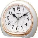 リズム時計工業 目覚まし時計 目覚まし時計 8RE665SR13