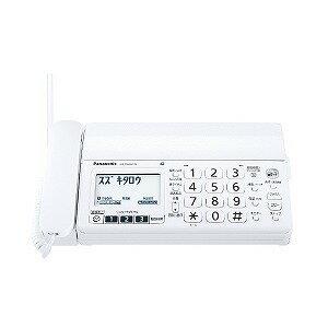 パナソニック 「子機2台」デジタルコードレス普通紙FAX 「おたっくす」 KX‐PZ200DW‐W (ホワイト)(送料無料)
