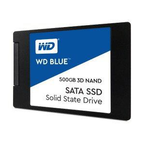 ウエスタンデジタル 「バルク品・保証無」内蔵SSD 500GB WD BLUE 3D NAND WDS500G2B0A