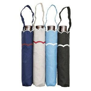 ウォーターフロント 「折りたたみ傘」レディース折傘 スカラップ刺繍 三つ折 「色指定不可」 [50cm] SKRP3F50UH