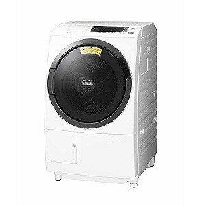 日立 ドラム式洗濯乾燥機 (洗濯10.0kg /乾燥6.0kg/左開き)「ビッグドラム」 BD−SG100CL−W ホワイト(標準設置無料)