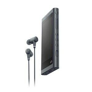 ソニー ハイレゾ対応ウォークマン(32GB)「WAシリーズ」 NW−A56HN (BM)グレイッシュブラック