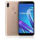 ASUS エイスース SIMフリースマホ「Zenfone Max M1 Series」 [5.5型/メモリ3GB/ストレージ32GB] ZB555KL−GD32S3 サンライトゴールド