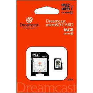 (2018/10/29発売予定) ドリームキャスト microSDHCカード(16GB)+SDアダプターセット STFW102−DC