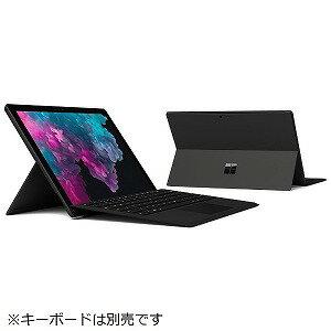 マイクロソフト Windowsタブレット Surface Pro 6(サーフェスプロ6) KJT−00023 ブラック [intel Core i5/SSD:256GB/メモリ:8GB/2018年10月モデル]
