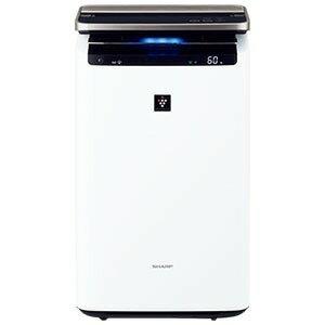 シャープ 加湿空気清浄機 [適用畳数:46畳 /最大適用畳数(加湿):26畳 /PM2.5対応] KI−JP100−W ホワイト系