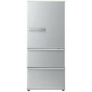 AQUA 3ドア冷蔵庫(272L・右開き) AQR−27G2−S ミスティシルバー(標準設置無料)
