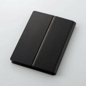 エレコム Bluetoothキーボード/ケース一体型/バックライト/レザー/汎用/ブラック TK−CAP03BK