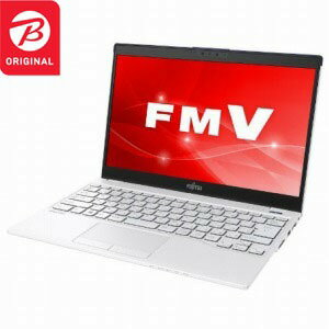 富士通 LIFEBOOK UH55/C3 FMVU55C3LB ホワイトwithネイビー [13.3型 /intel Core i3 /SSD:128GB /メモリ:4GB /2018年11月モデル]