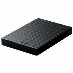 エレコム ポータブルハードディスク 2TB Seagate New Expansion MXシリーズ SGP−MX020UBK ブラック