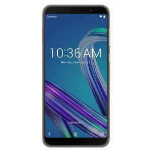 ASUS SIMフリースマートフォン Zenfone Max Pro M1 ZB602KL−SL32S3 メテオシルバー