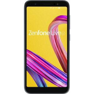 ASUS SIMフリースマートフォン<Zenfone Live L1 Series> ZA550KL−BK32 ミッドナイトブラ...