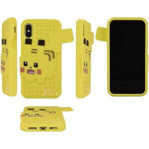グルマンディーズ ポケモンクエスト iPhoneXs/X対応シリコンケース ピカチュウ POKE612A(ピカ