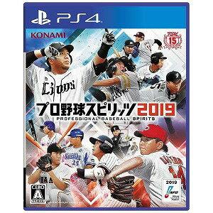 コナミデジタルエンタテインメント PS4ゲームソフト プロ野球スピリッツ2019