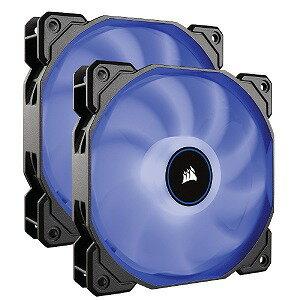 コルセア AF140 LED Dual Blue CO−9050090−WW