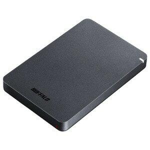 バッファロー 外付けHDD HD−PGF1.0U3−BKA ブラック [ポータブル型]