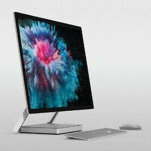 マイクロソフト デスクトップパソコン Surface Studio 2(サーフェススタジオ2) LAM−00023 プラチナ [28型 /SSD:2TB /メモリ:32GB /2019年1月]
