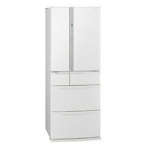 パナソニック 6ドア冷蔵庫(451L・フレンチドア) NR−FV45S5−W ハーモニーホワイト(標準設置無料)