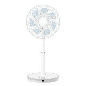山善 リビング扇風機 リモコン付き [DCモーター搭載/7枚羽根] YLX−HD30ライトブルー