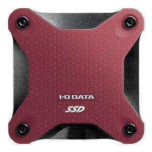 I・O・DATA 外付けSSD SSPH−UT960R レッド [ポータブル型 /960GB]