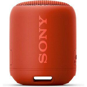 ソニー SONY ワイヤレスポータブルスピーカー SRS−XB12RC レッド