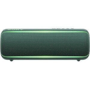 ソニー SONY ワイヤレスポータブルスピーカー SRS−XB22 グリーン