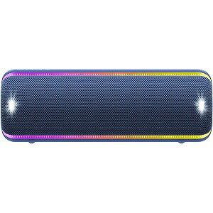 ソニー SONY ワイヤレスポータブルスピーカー SRS−XB32 ブルー