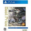 カプコン PS4ソフト ベストモンスターハンターワールド