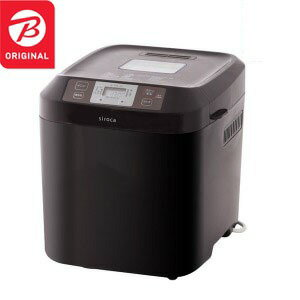 siroca ホームベーカリー  [2.0斤] SHB−122BK(T) ブラウン