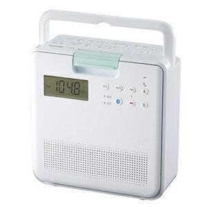 東芝 TOSHIBA コンパクト防水型SD/CDラジオ TY−CB100(W)