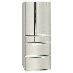 【ポイント2倍】Panasonic 6ドア冷蔵庫(501L・フレンチドア) NR-F506T-N <シャンパン>【標準設置無料】